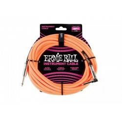 Cable ERNIE BALL 6084 Orange Jack-Jack Codo 5,49m. Foto: \192