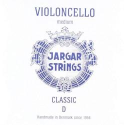 Cuerda Violonchelo JARGAR 2ª (RE) Cromo Medium Azul Foto: \192