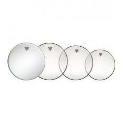 Pack Parches REMO Pro Pack Emperor Clear PP-0240-BE-GW - Regalo 14 Amb. Coated Foto: \192