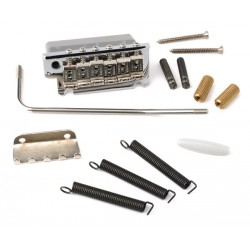Puente tremolo FENDER American Standard Strato Bridge Assembly Chrome (007-5091-049) Foto: \192