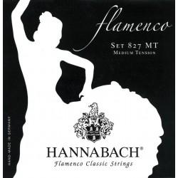 Cuerdas Flamenco HANNABACH 827-MT Tension Media Foto: \192