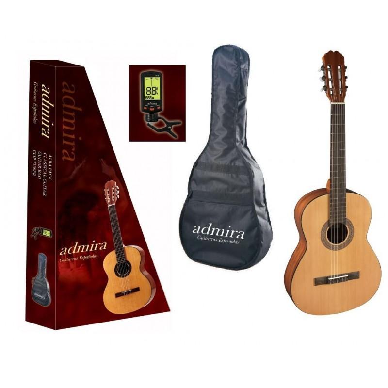 Pack Guitarra Clasica ADMIRA Alba 3/4 Foto: \192