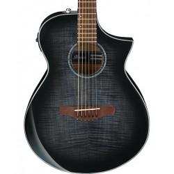 Guitarra Acustica IBANEZ AEWC400-TKS Transparent Black Sunburst Foto: \192