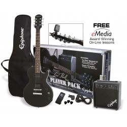 Pack Guitarra Electrica EPIPHONE Player Pack Special II Ebony Foto: \192