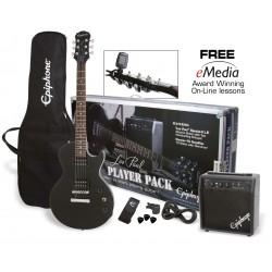 Pack Guitarra Electrica EPIPHONE Player Pack Special II Ebony Foto: \192