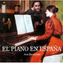 Benavides Ana - El piano en España (Ingles) Foto: \192