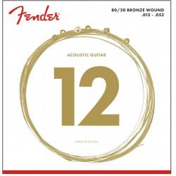 Cuerdas Acustica FENDER Bronze 70L (12-52) Foto: \192