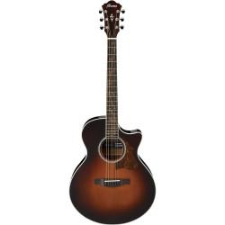 Guitarra Acustica IBANEZ AE205-BS Brown Sunburst High Gloss Foto: \192