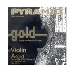 Cuerda Violin PYRAMID GOLD 2ª 108102 4/4 Foto: \192