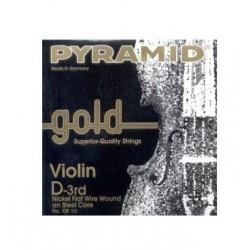 Cuerda Violin PYRAMID GOLD 3ª 108103 4/4 Foto: \192