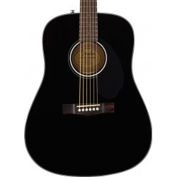 Guitarra Acustica FENDER CD-60S Black WN Foto: \192