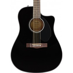 Guitarra Acustica FENDER CD-60SCE Black Foto: \192