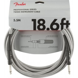 Cable FENDER Professional Series White Tweed Jack-Jack 5,5m Foto: \192