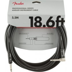 Cable FENDER Professional Series Black Jack-Jack Codo 5,5m Foto: \192