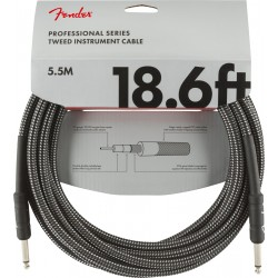 Cable FENDER Professional Series Gray Tweed Jack-Jack 5,5m Foto: \192