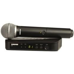 Microfono Inalambrico SHURE BLX24E/PG58 H8E vocal Foto: \192