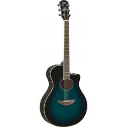 Guitarra Acustica YAMAHA APX600 Oriental Blue Burst Foto: \192