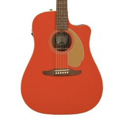 Guitarra Acustica FENDER Redondo Fiesta Red LTD  Foto: \192