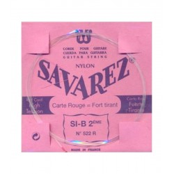 Cuerda Clasica SAVAREZ Carta Roja 2ª 522-R Foto: \192