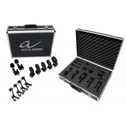 Micro ALPHA AUDIO Drumbox set 7 microfonos Foto: \192