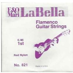 Cuerda Flamenca LA BELLA Roja 821 1ª Foto: \192