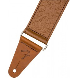 Correa FENDER Tooled Leather Guitar Strap 2 Brown Foto: \192