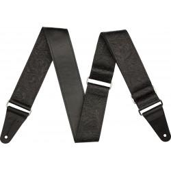 Correa FENDER Tooled Leather Guitar Strap 2 Black Foto: \192