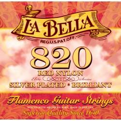 Cuerdas Flamenco LA BELLA Roja 820 Foto: C:QuerryFotos WebCuerdas Flamenco LA BELLA 820