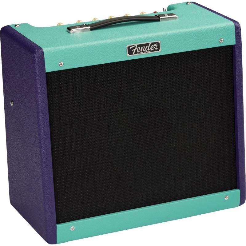 Amplificador FENDER Blues Junior LTD Edition 2020 Two Tone Purple-Seafoam Foto: C:QuerryFotos WebAmplificador FENDER Blues Junio