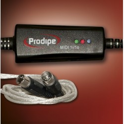 Interface Audio PRODIPE Midi-USB 1i1o Foto: C:QuerryFotos WebInterface Audio PRODIPE Midi-USB 1i1o-2