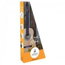 Pack Guitarra Clasica ADMIRA Alba 4-4