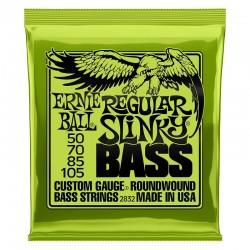 Cuerdas Bajo ERNIE BALL Regular Slinky 2832 (50-105) Foto: C:QuerryFotos WebCuerdas Bajo ERNIE BALL Regular Slinky 2832 (50-105)