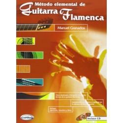 GRANADOS M. - Metodo Elemental de Guitarra Flamenca + CD Foto: C:QuerryFotos WebGRANADOS M