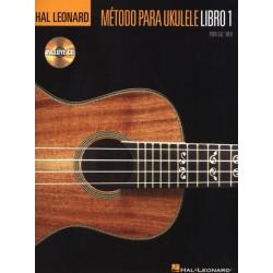 HAL LEONARD - Metodo para ukulele Libro 1 + CD