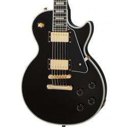 Guitarra Electrica EPIPHONE Les Paul Custom Ebony Foto: C:QuerryFotos WebGuitarra Electrica EPIPHONE Les Paul Custom Ebony