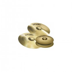 Set Platos PAISTE 101 Brass Universal Foto: C:QuerryFotos WebSet Platos PAISTE 101 Brass Universal