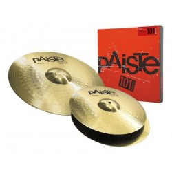 Set Platos PAISTE 101 Brass Essential 13-18