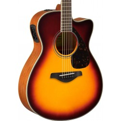 Guitarra Acustica YAMAHA FSX820C Brown Sunburst