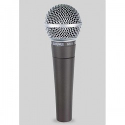 Microfono SHURE SM58 LCE Foto: C:QuerryFotos WebMicrofono SHURE SM-58 LCE