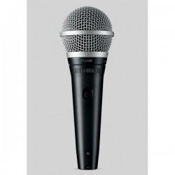 Microfono SHURE PGA48 Foto: C:QuerryFotos WebMicrofono SHURE PGA48