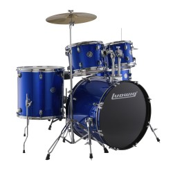 Bateria LUDWIG Accent Fuse LC170 Blue Foil