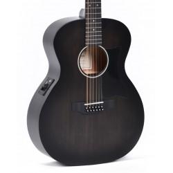 Guitarra Acustica SIGMA GM12E-BKB 12 cuerdas Foto: C:QuerryFotos WebGuitarra Acustica SIGMA GM12E-BKB