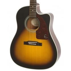 Guitarra Acustica EPIPHONE AJ-210CE Vintage Sunburst Foto: C:QuerryFotos WebGuitarra Acustica EPIPHONE AJ-210CE Vintage Sunburst