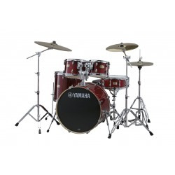 Bateria YAMAHA Stage Custom Birch Studio Cranberry Red + HW780