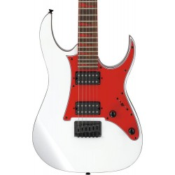 Guitarra Electrica IBANEZ GRG131DX-WH White Foto: C:QuerryFotos WebGuitarra Electrica IBANEZ GRG131DX-WH White-1
