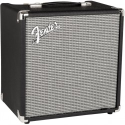 Amplificador FENDER Rumble 25 Foto: C:QuerryFotos WebAmplificador FENDER Rumble 25