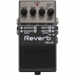 Pedal BOSS RV6 Digital Reverb Foto: C:QuerryFotos WebPedal BOSS RV-6 Digital Reverb