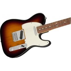 Guitarra Electrica FENDER Player Telecaster 3-Color Sunburst PF Foto: C:QuerryFotos WebGuitarra Electrica FENDER Player Telecast