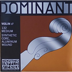Cuerda Violin THOMASTIK Dominant 3ª 132 (RE) Foto: C:QuerryFotos WebCuerda Violin THOMASTIK Dominant 3ª 132 (RE)