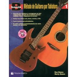 Basix Metodo de Guitarra por tablatura Vol. 1 (Inc.CD) - Ed. Volonte  Co (2011) Foto: C:QuerryFotos WebBasix Metodo de Guitarra
